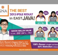 sna The Best 2015 iPSLE Result in East Java - singapore national academy (international school)